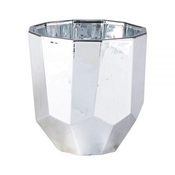 650000038 600x600 - Chân nến kim loại màu bạc BO152289
