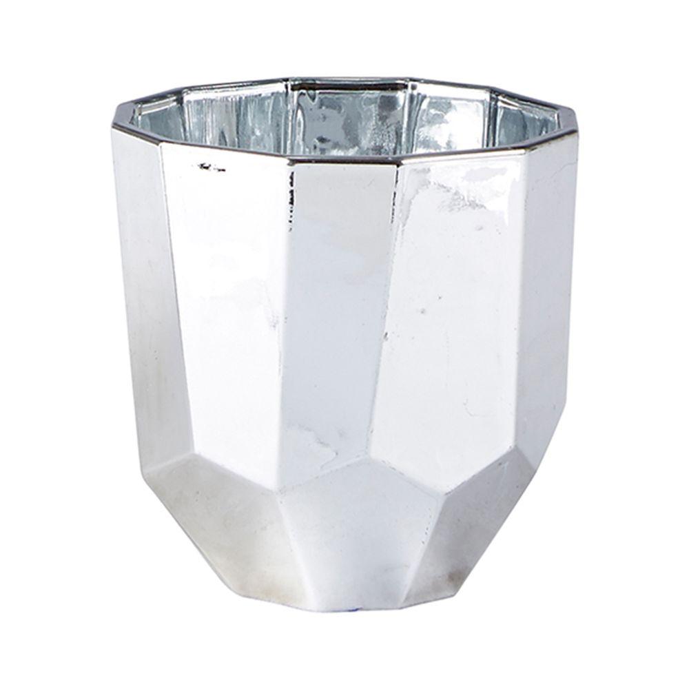 650000038 - Chân nến kim loại màu bạc BO152289