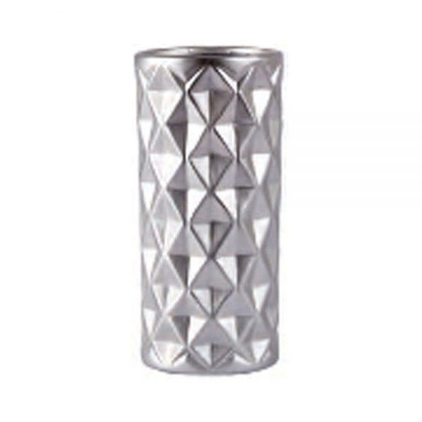 650000040 600x600 - Bình hoa sứ mạ ánh bạc BO152695