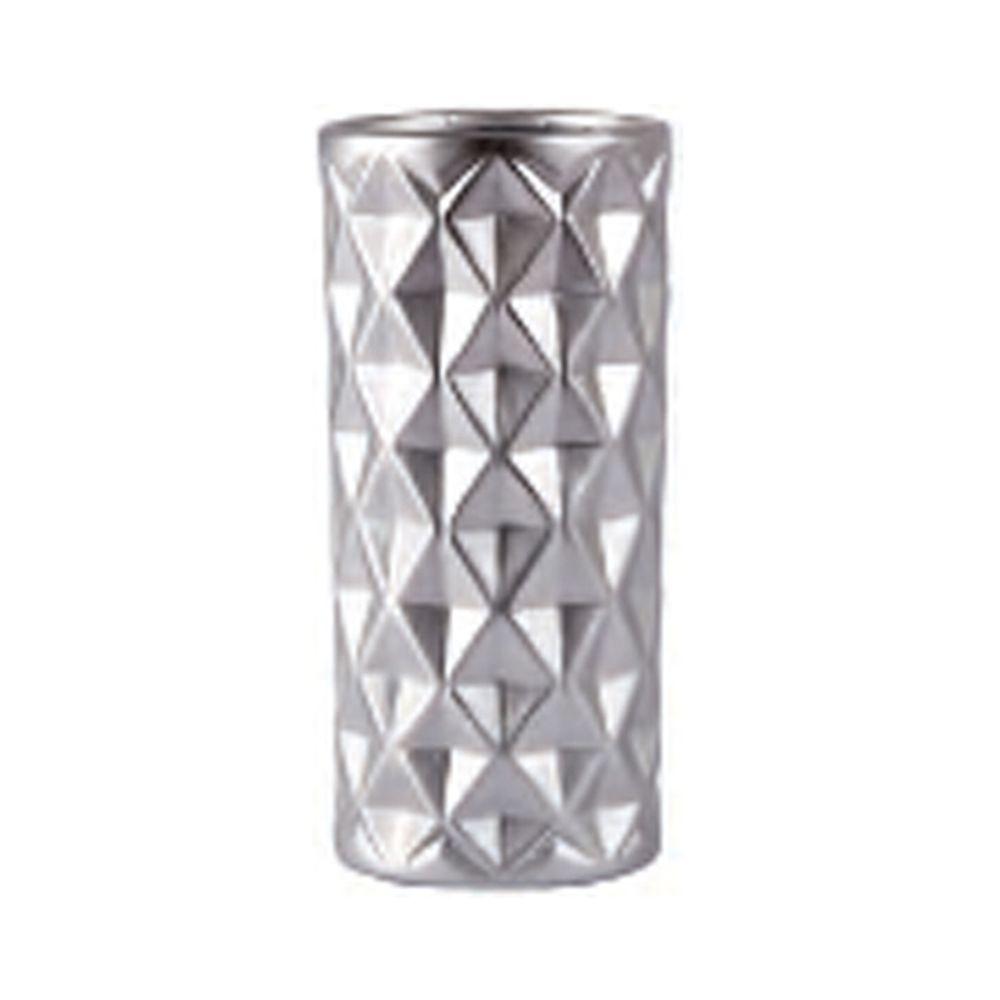 650000040 - Bình hoa sứ mạ ánh bạc BO152695