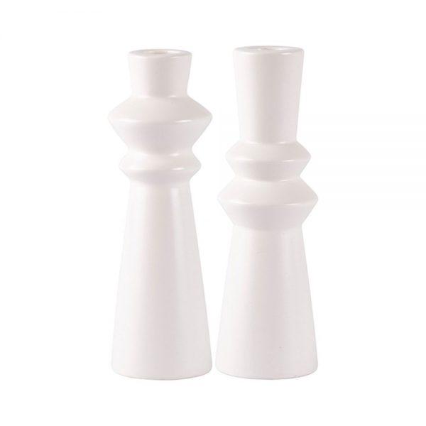 650000046 600x600 - Chân nến gốm sứ trắng BO61426