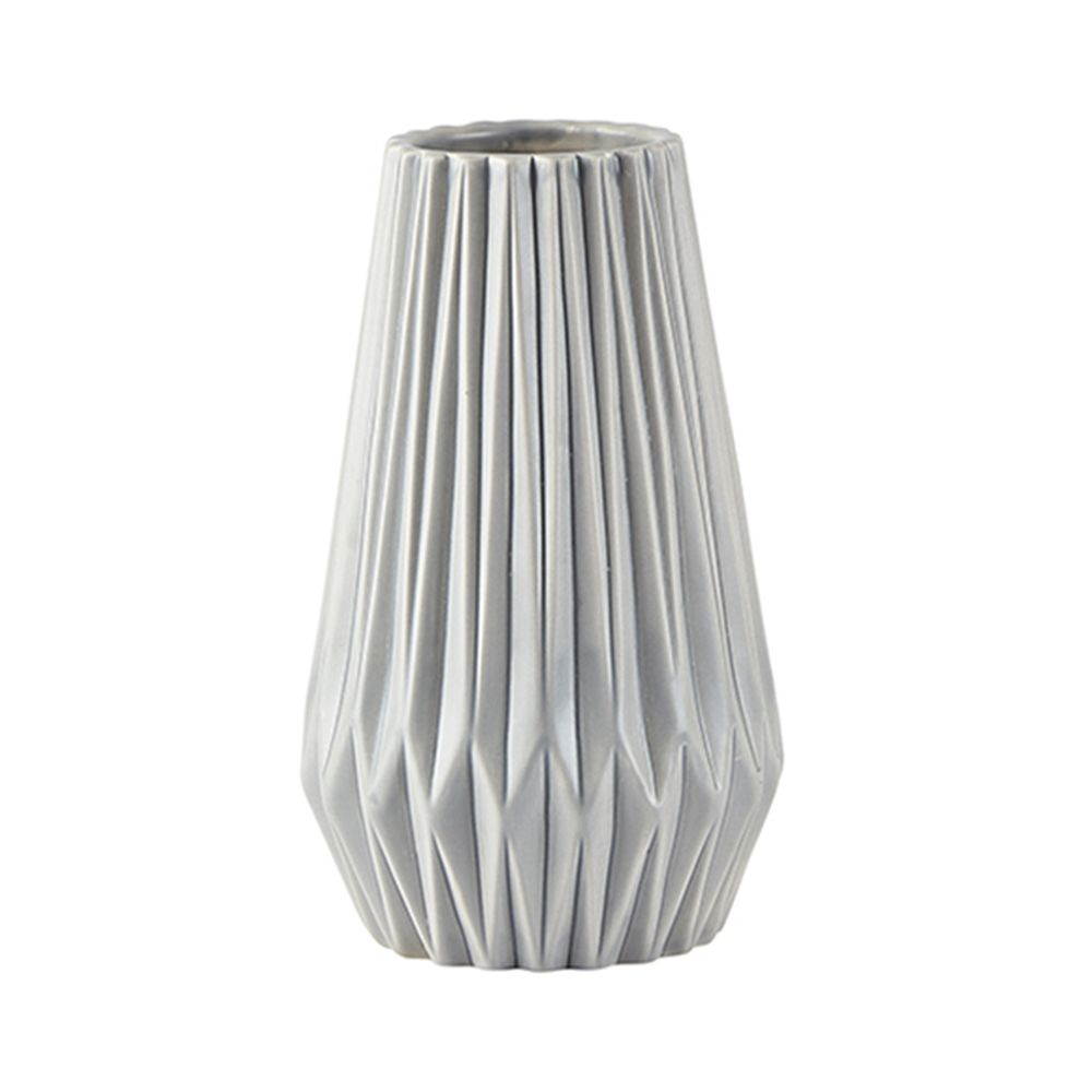 650000048 - Bình hoa gốm xám khíaD10.5xH17cm BO62086