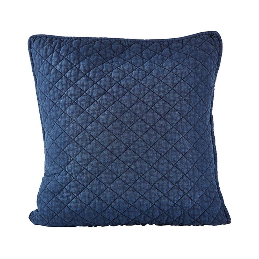 650000061 - Gối xanh hình đan vuông 45*45cm BO162367