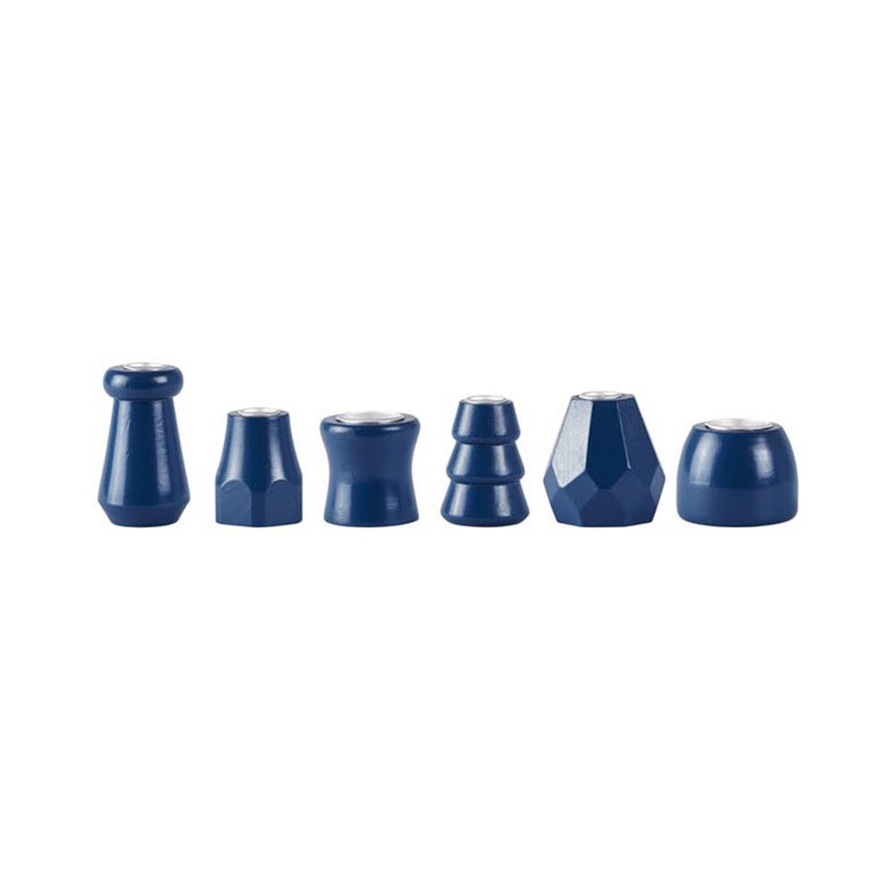 650000319 - Chân nến gỗ xanh petrol BO152561