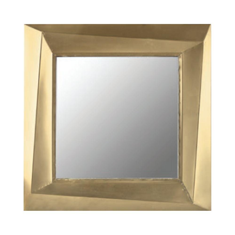 650000702 - Gương vuông viền vàng antique L61 BO2793