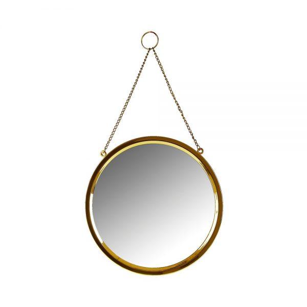 650000704 600x600 - Gương tròn viền vàng OD35,5cm BO472774