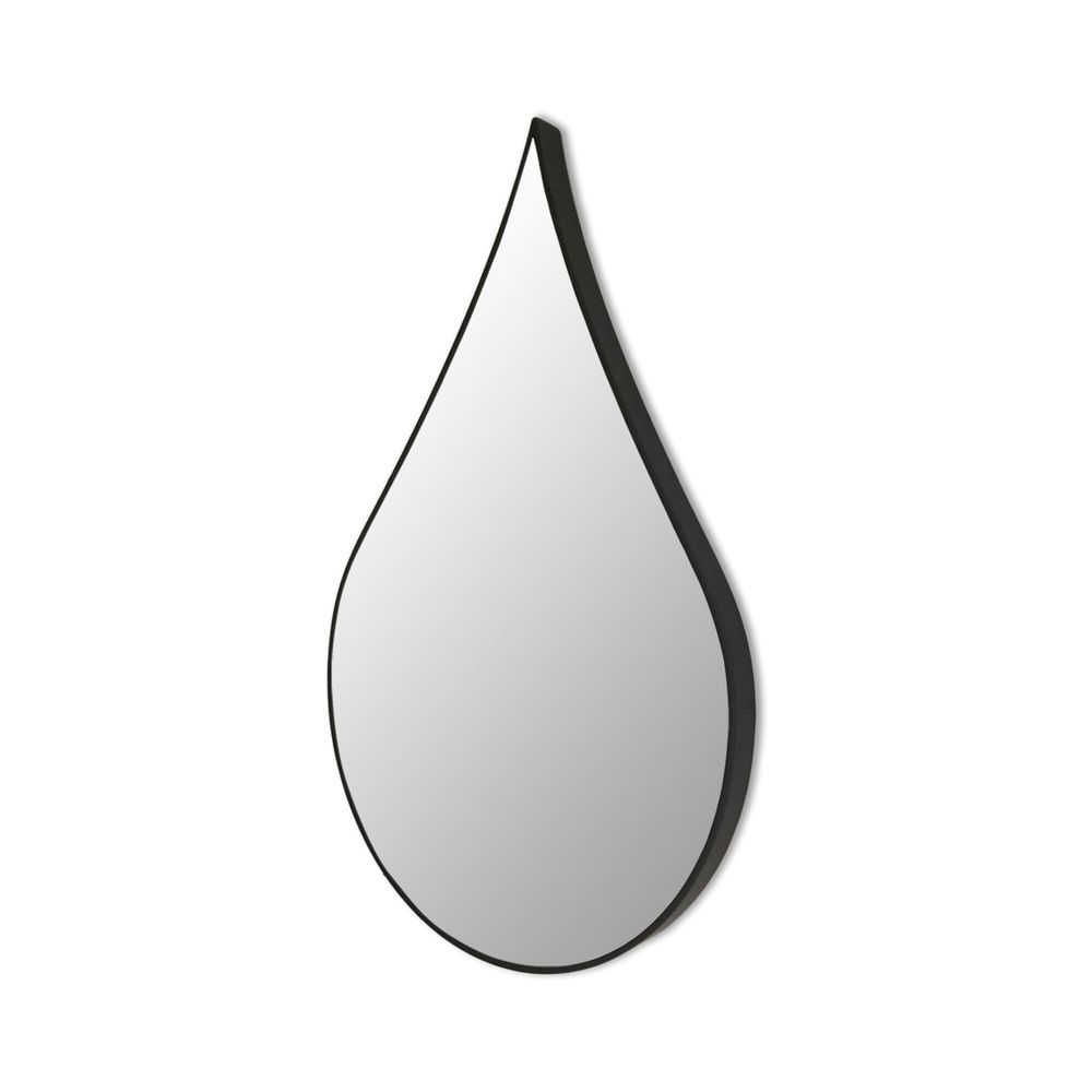 650001039 - Gương Droplet viền đen H80cm IN2298-80