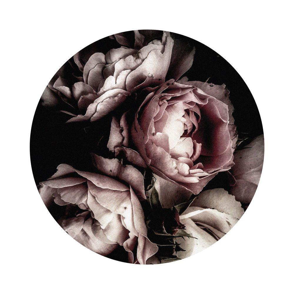 650001042 - Tranh vườn hoa hồng đen OD80 IN92-OD80HD