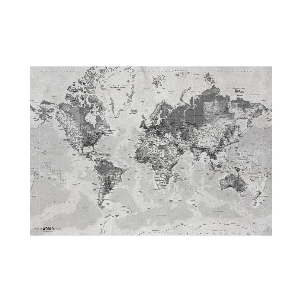 650001045 - Tranh Worldmap 80x120cm IN84019-84120-CO