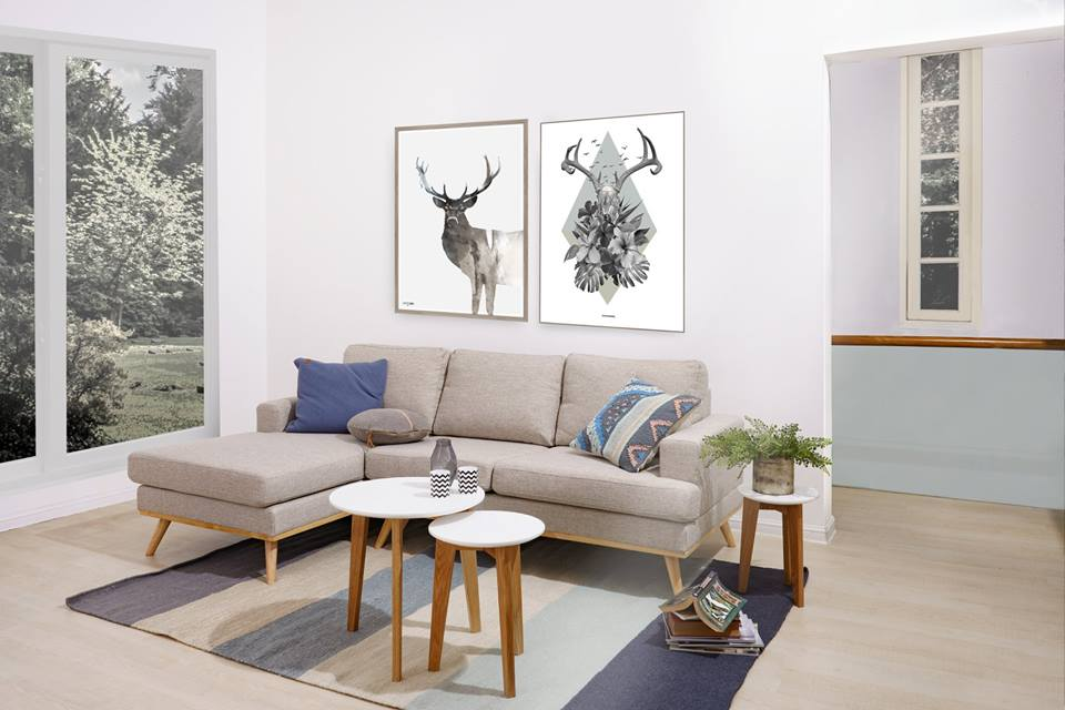 Norwich sofa - Da và vải - Nên chọn chất liệu nào cho sofa nhà bạn?