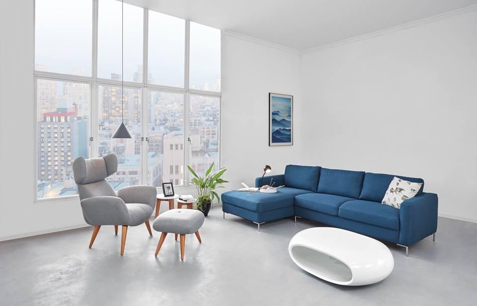 sofa avio xanh