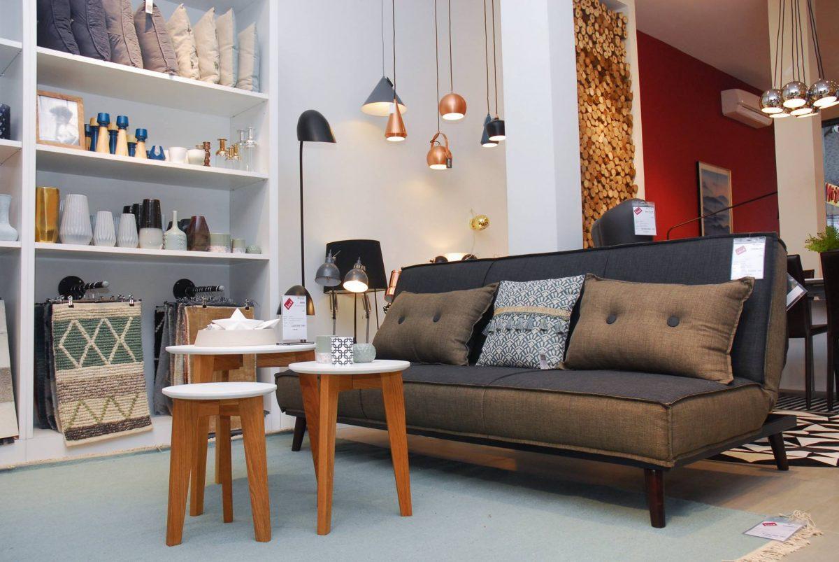 Sofa Bed Cremona + abin nest table