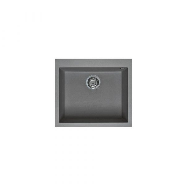 TITANIUM G 10573 600x600 - Chậu rửa đá Granite NERO - Đôi