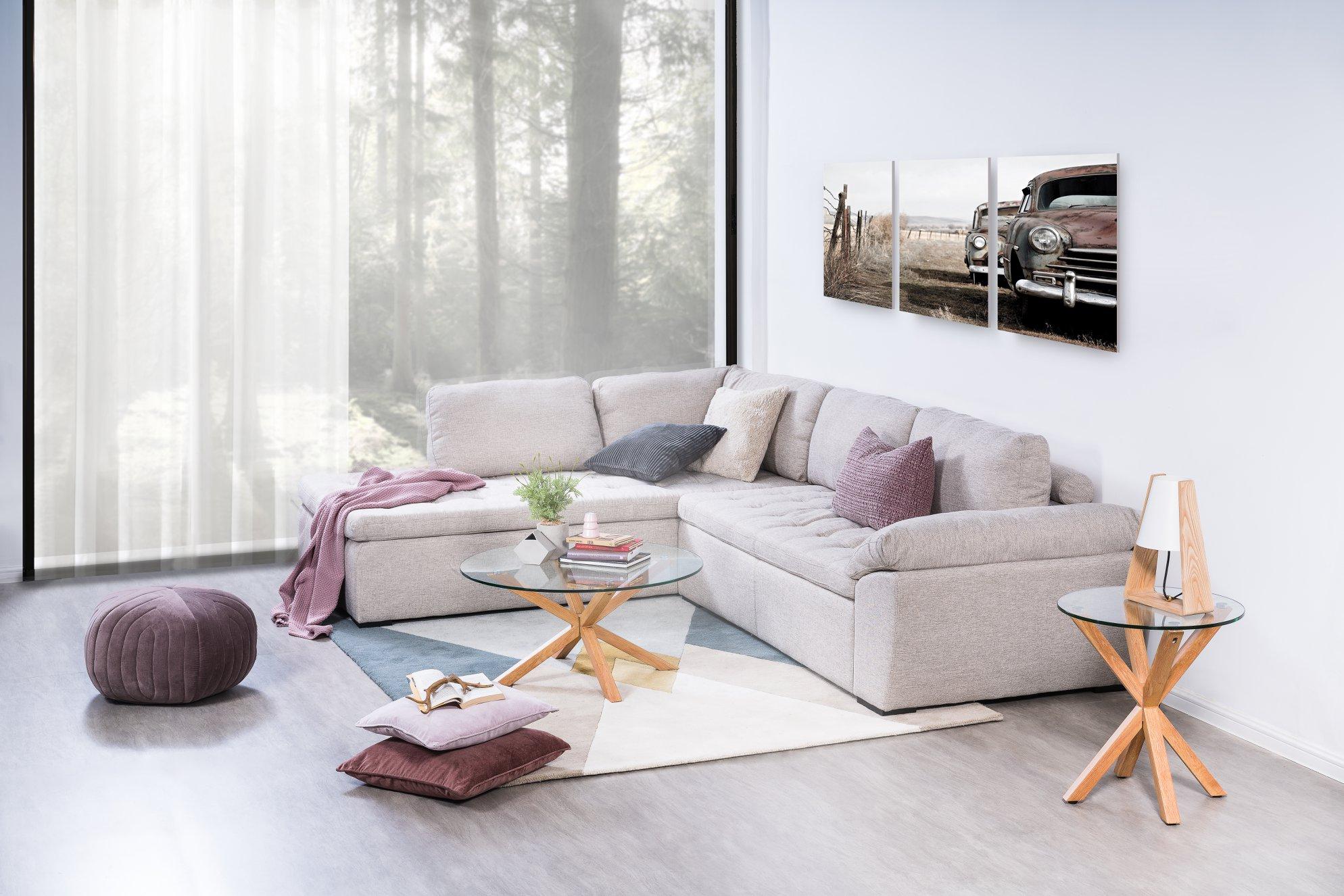 Wellington light - Da và vải - Nên chọn chất liệu nào cho sofa nhà bạn?