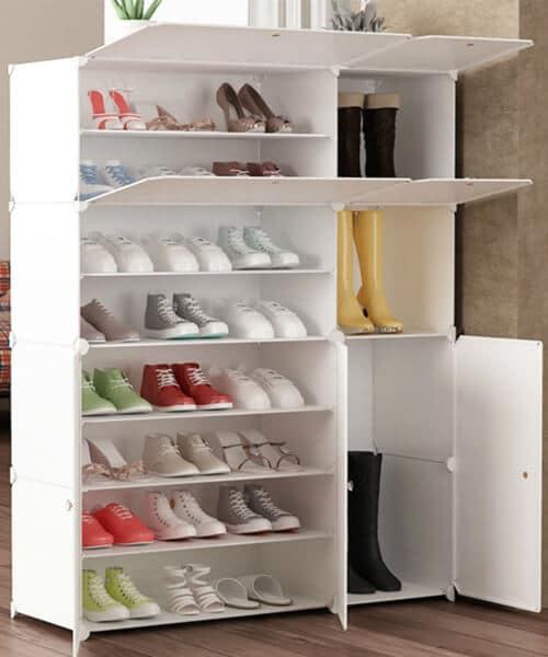 tu giay thong minh bang nhua 6 - Tủ Giày Thông Minh Bằng Nhựa - Ưu Điểm Và Mẫu Tủ Được Yêu Thích