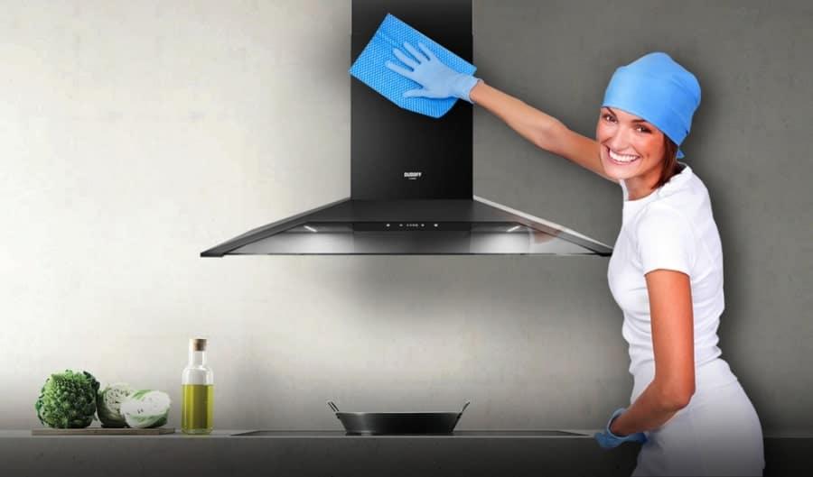 cách vệ sinh máy hút mùi nhà bếp
