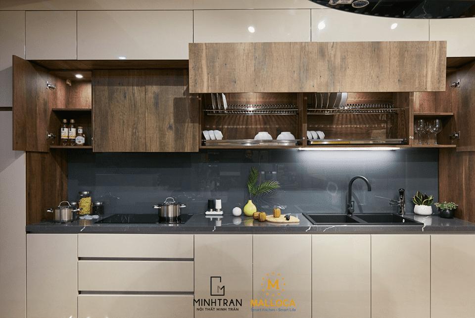 2 min 1 - 5+ Cách Trang trí Nhà Bếp Đơn Giản Mà Đẹp Phong Cách Hiện Đại