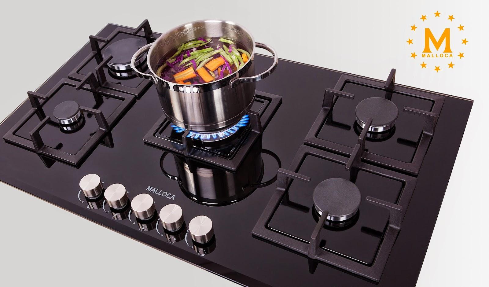 bep ga am malloca 01 - Lưu Ý 7 Cách Chọn Bếp Gas Âm Tốt Nhất Cho Căn Bếp Nhà Bạn