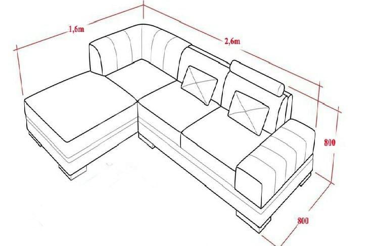 kich thuoc sofa chu l 1 min - Kích Thước Ghế Sofa Chữ L Chuẩn Và Thông Dụng Là Bao Nhiêu ?