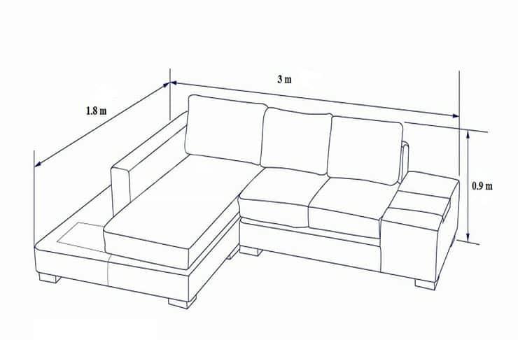 kich thuoc sofa chu l 4 min - Kích Thước Ghế Sofa Chữ L Chuẩn Và Thông Dụng Là Bao Nhiêu ?