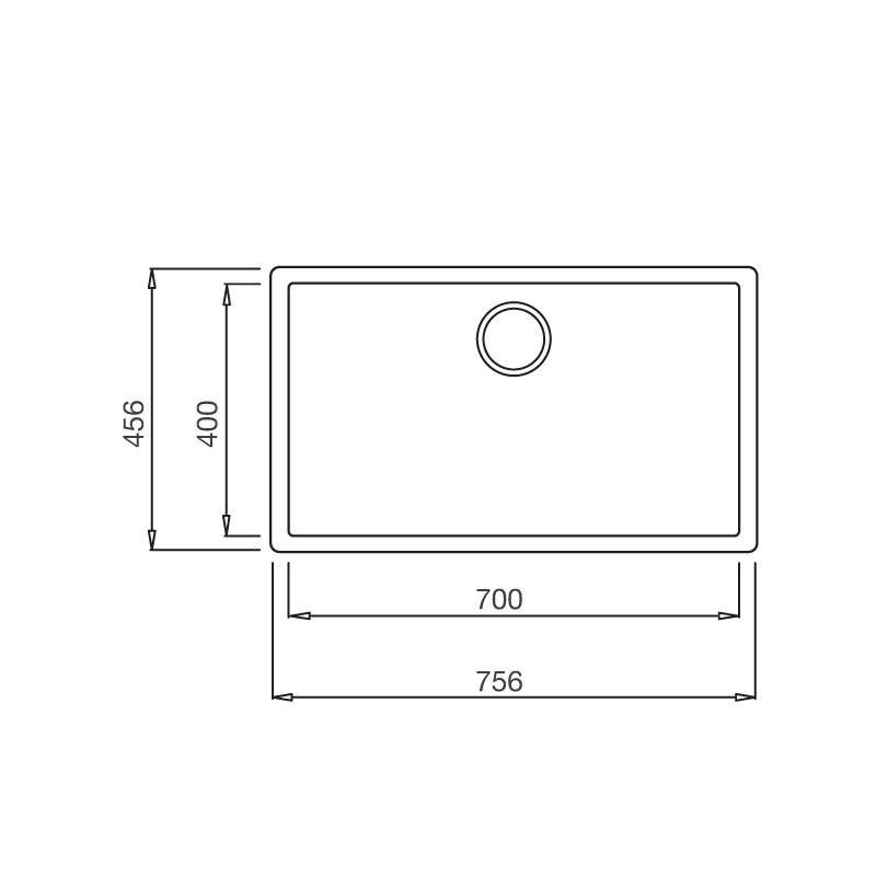 ZEN K 13040 1 - Chậu đá ZEN K-13040